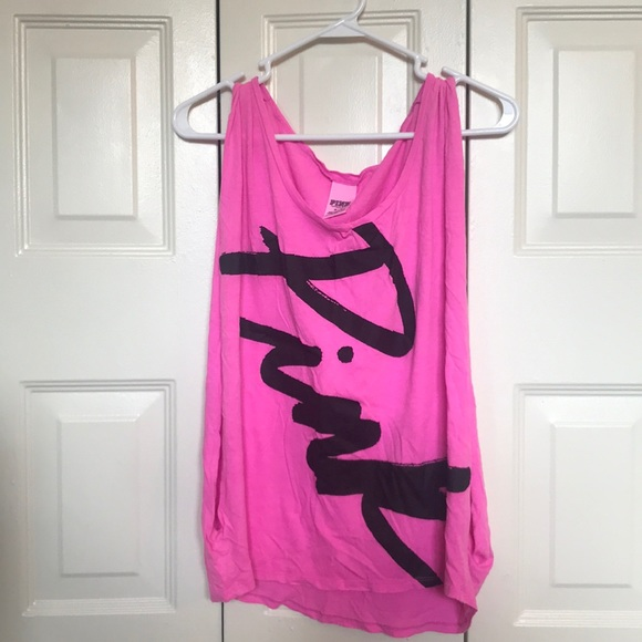 PINK Victoria's Secret Tops - Victoria Secret Open-side Tank Top
